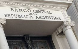 On Monday the Central bank reserves were down 184 million dollars