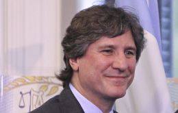 With Cristina in the Vatican and later in the week in New York, Boudou is formally Argentina's president