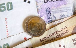 However private estimates, the fall of the Argentine Peso and inflation are indicating that the Argentine economy continues to contract