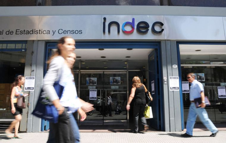 Official Indec figures released last week showed GDP growing 0.9% in the second quarter, up from a contraction of 0.5% in the quarter before