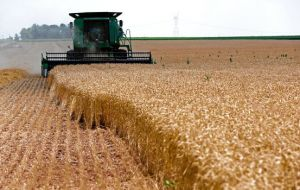 Wheat on pace for a record worldwide crop as yields out of Europe, China and the Commonwealth of Independent States