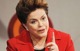 "Rousseff said her intention is not to influence content, but rather to break down an ""asymmetrical"" concentration of media ownership, described as harmful."