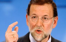 """I regret it because it's against the law, it's beyond democratic law, divides Catalans, distances them from Europe and the rest of Spain"" said Rajoy"