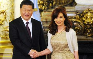 Ties between Argentina and the Asian giant have been expanding and were further boosted when President Xi Jinping visited Argentina in July