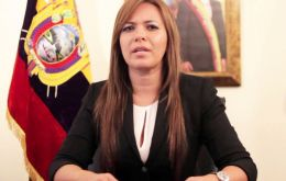 """We offer our public apology for the violation of indigenous property, the right to consultation,"" said Justice Minister Ledy Zuniga"