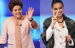 In first-round voting that takes place on Sunday, Rousseff has 40% voter support and Silva 24%.