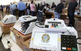 The results on Sunday should be quick in coming since Brazil has implemented a network of electronic balloting with 507.000 voting machines