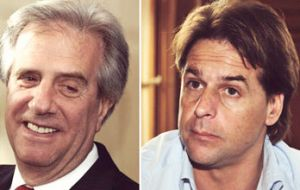 Former president Vazquez has 42% vote intention and Lacalle Pou, 32%