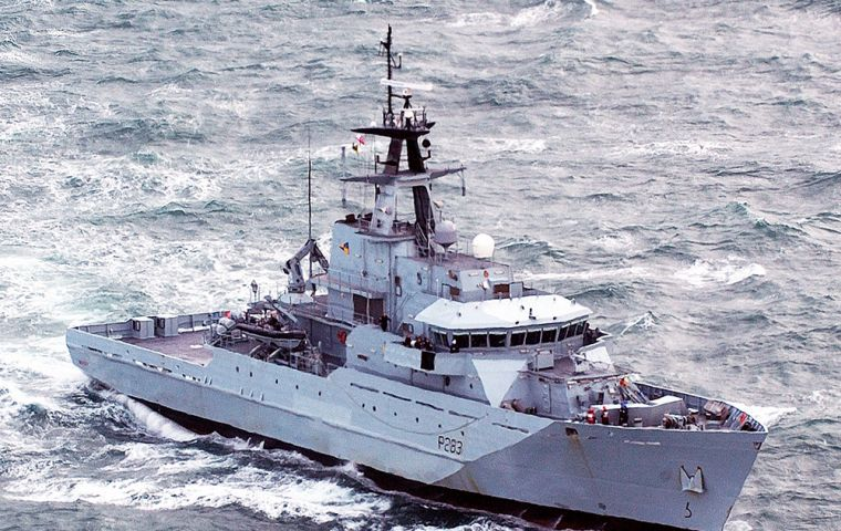 The OPVs build on the proven capability of the Royal Navy's current River Class vessels.