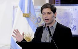"Kicillof argued the problem with foreign credit is ""conditions demanded"""