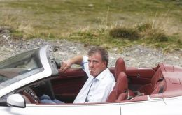 Jeremy Clarkson, expert in baits for controversy and fabrications who appeals to English nationalistic instincts