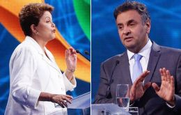 Rousseff recalled that in Neves home state of Minas Gerais, where he was twice governor, there has been a sharp rise in homicides and was heavily indebted.