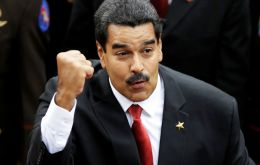 """This is the victory of Hugo Chavez. He keeps winning battles in the world (...) It's a day in which the world has supported our fatherland,"" said Maduro"