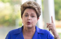 """If there was diversion, we want (the money) back,"" Rousseff said at a press conference at Alvorada Palace, where she was resting"