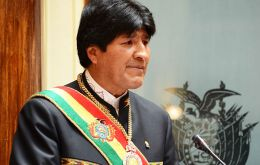 Bolivia's first indigenous president was re-elected for a third mandate with 61% support