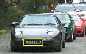 "Clarkson arrived in Tierra del Fuego, just 400 miles from the 'Malvinas Islands', flaunting a car with the number plates ""H982 FKL"""