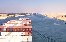 The 'new' Suez Canal will partially run in parallel to the current waterway and partially entail widening and deepening of existing parts