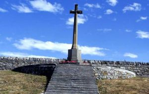 A short service will be held at the Cross of Sacrifice and the Roll of Honour read out.
