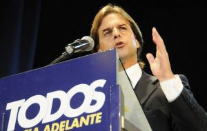 Lacalle Pou said he was ready to become a candidate of all Uruguayans after 26 October