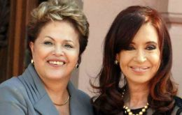 Rousseff and CFK will convene in Brisbane at the upcoming G20 summit scheduled for November 15 and 16