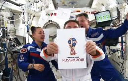 Russia have released the logo for the 2018 World Cup from the Space