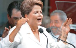 """I do not think these elections have cut the country in two,"" Rousseff insisted after her win."