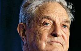 The lawsuit involves 226m Euros interest payments on Euro-denominated Argentine bonds issued under English law. One of the litigants is George Soros