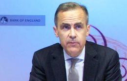 BoE Governor Mark Carney has said interest rates will be gradual when they do come, reflecting the uncertain global outlook
