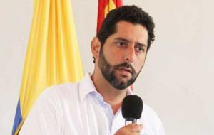 """It was never my intention to stir up this controversy or tread on sensitivities but I won't dig my heels in"", said Cartagena mayor Dionisio Velez Trujillo"