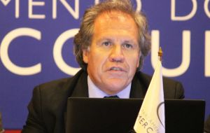 Uruguay's Almagro pointed out to the 'many documents and resolutions' which indicate that self determination is only applicable to subjugated peoples