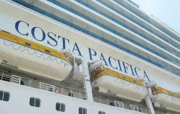 """Costa Pacifica"" and ""Costa Favolosa"" will be operating this season from Montevideo"