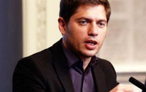 "Kicillof said that the Argentine delegation was ""extremely pleased that the issue was included in the final document,"" for the first time in the history of the G-20."