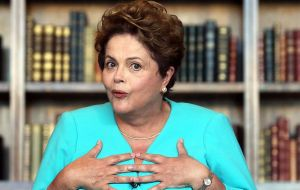 President Rousseff says she had no knowledge of the scheme despite having been Energy minister and member of Petrobras board