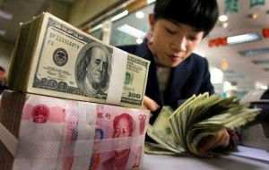 Yuan can be freely converted into US dollars, Euros or other currencies in Hong Kong, London or Singapore, and several countries hold them in reserves