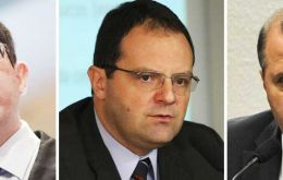 Joaquim Levy, Nelson Barbosa and Alexandre Tombini according to media will be team conducting Brazilian finances