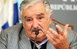 """It gives one the sense, seen from a distance, that this is a kind of failed state, in which public authorities have completely lost control,"" Mujica said"
