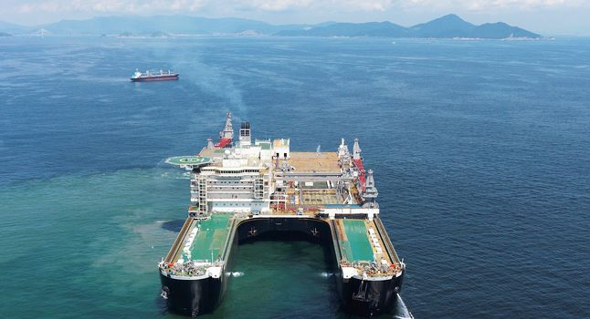 Largest crane ship capable of lifting oil rigs delivered in