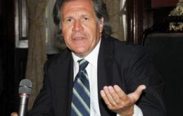 "Almagro highlighted that ""Mercosur allows Uruguay to diversify its exports and to sell products with more value added, which generates more jobs""."