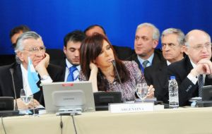 Argentina holds the rotating chair of Mercosur until next month's summit in Paraná, when the responsibility will pass on to Brazil for the following 6 months.