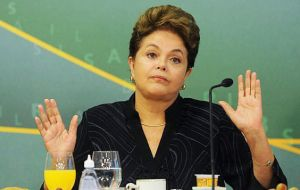 Under Rousseff her government has used accounting tricks and transfers from a sovereign wealth fund to meet fiscal targets and eroding credibility