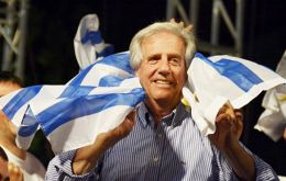 Vazquez becomes the third president in Uruguay's history to be elected twice president. Uruguay has not re-election.