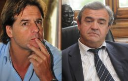 "From now on ""Lacalle Pou and Jorge Larañaga will continue with their proposals from parliament"""