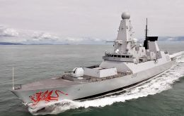 The Type 45 destroyer is one of the most modern vessels of the Royal Navy and is currently on South Atlantic deployment