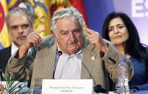 Mujica also asked for the liberation of Cuban spies jailed in the US and the lifting of the US embargo on Cuba