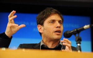 Despite the amicable messages, Finance minister Kicillof has been critical of the IMF and its forecasts on Argentina