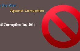 "The 2014 International Day theme, Breaking the Corruption Chain, is geared to in tackle a phenomenon ""that strikes hardest at the poor"""