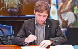 Argentina's Economy Minister Axel Kicillof negotiated the expropiation of YPF, which helped Repsol finance the takeover of Canada's Talisman.