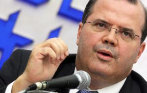 Brazil's Central Bank President Alexandre Tombini sees the good part of oil price fall.