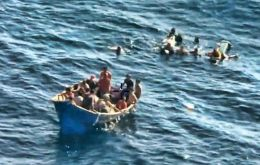 One refugee missing after attack by Cuban Coast Guard