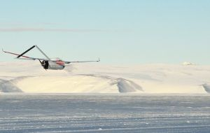 Flying drones in Antarctica raises evironmental concern